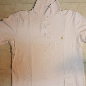 Pink Brooks Brothers Polo (L)
